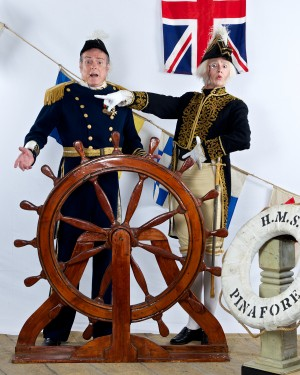 Some at-sea antics are afoot in Gilbert and Sullivan's 'HMS Pinafore,' coming to CFCC next spring.