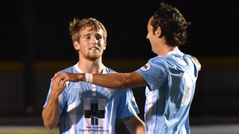 The Wilmington Hammerheads moved on in the US Open Cup on Wednesday. Photo courtesy- Wilmington Hammerheads FC.