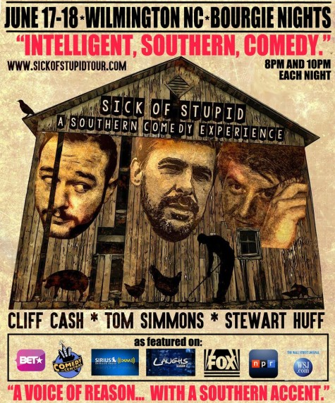 The trio behind Sick of Stupid will do two sets both Friday and Saturday,