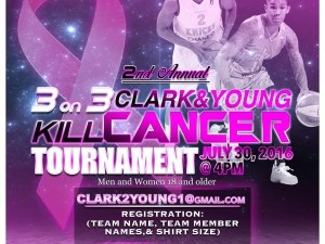 Tamera Young and Kris Clark have teamed up to host a charity tournament this weekend.