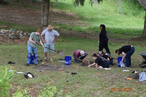 ECU anthropology students investigate colonial life at Brunswick Town during a six week dig this summer. Photo courtesy of the North Carolina Department of Natural and Cultural Resources.