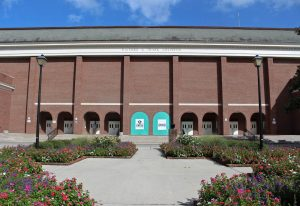 Trask Coliseum on the UNCW campus. Photo by Hannah Leyva.