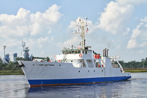 The R/V Cape Hatteras has been apart of CFCC's Marine Technology program since 2013. The program just received a donation from a local fishing club for scholarships in the program. Photo courtesy of CFCC.