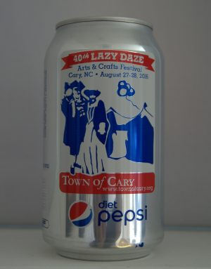 Wilmington artist Sarah Sheffield will have her post design featured on two million cans of Pepsi to promote the 40th anniversary of the Lazy Daze Arts and Crafts Festival.