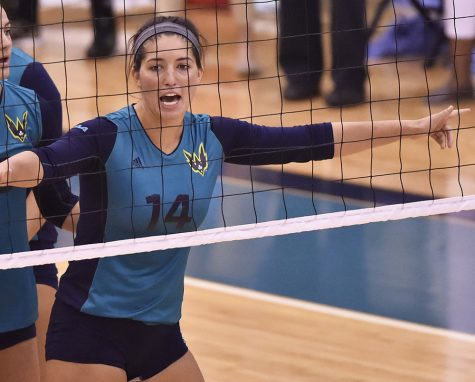 Sydney Brock had a big weekend for UNCW to open the year.