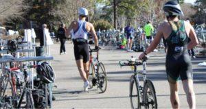 The Wilmington Family YMCA Sprint Triathlon returns to the area on September 17. Photo courtesy- North Carolina Triathlon Series.