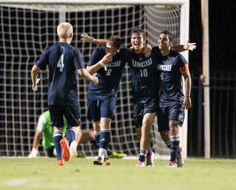 2016 Campbell University Men Soccer vs UNC Wilmington
