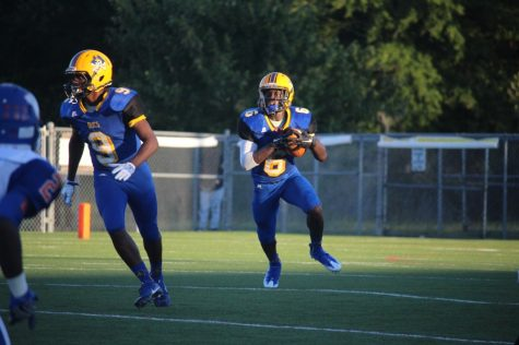 Imeek Watkins had another big night for Laney on Friday.