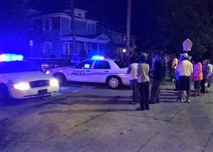 Police say a Wilmington man was shot and left for dead on his porch.