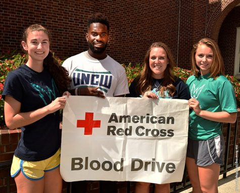 UNCW student-athletes will hold a blood drive on campus Thursday. Photo courtesy- UNCW Athletics