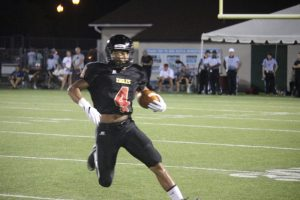 Corey Whaley has been a key player for Ashley this football season.