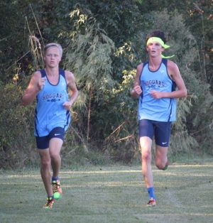 Erik Dahlgren, left, and Jamie Witmer.