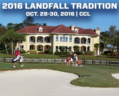 The Landfall Tradition tees off on Friday morning. Photo courtesy- UNCW Sports