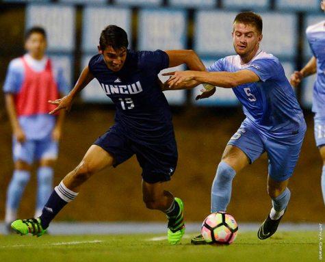 UNCW dropped a 1-0 contest at North Carolina on Tuesday. Photo courtesy- UNCW Athletics
