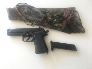 Pictured is the pellet gun deputies recovered after three schools were placed under lockdown. Photo courtesy of the New Hanover County Sheriff's Office.