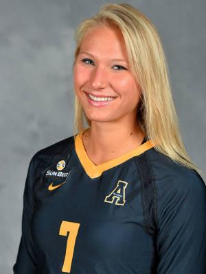 Cassidy Stephenson. Photo courtesy- Appalachian State Athletics.