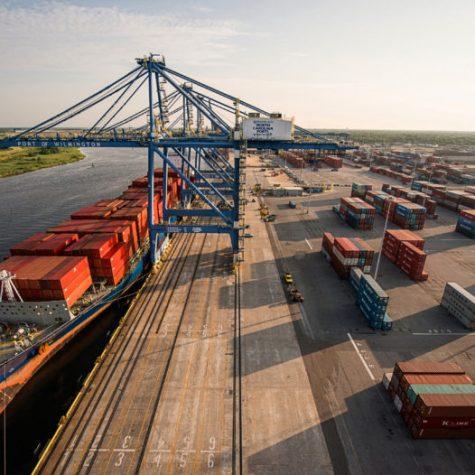 Port of Wilmington. (Courtesy North Carolina Ports)