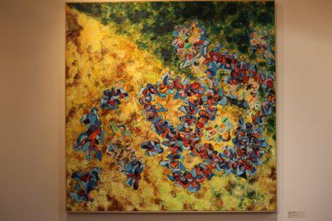 "Randy McNamara ""Ramble"" mixed media on canvas, 2015"