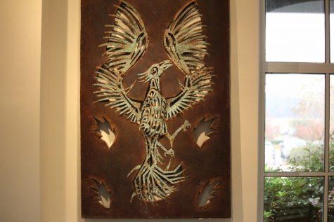 """Michael Van Hout """"Phoenix"""" copper, 2012"""