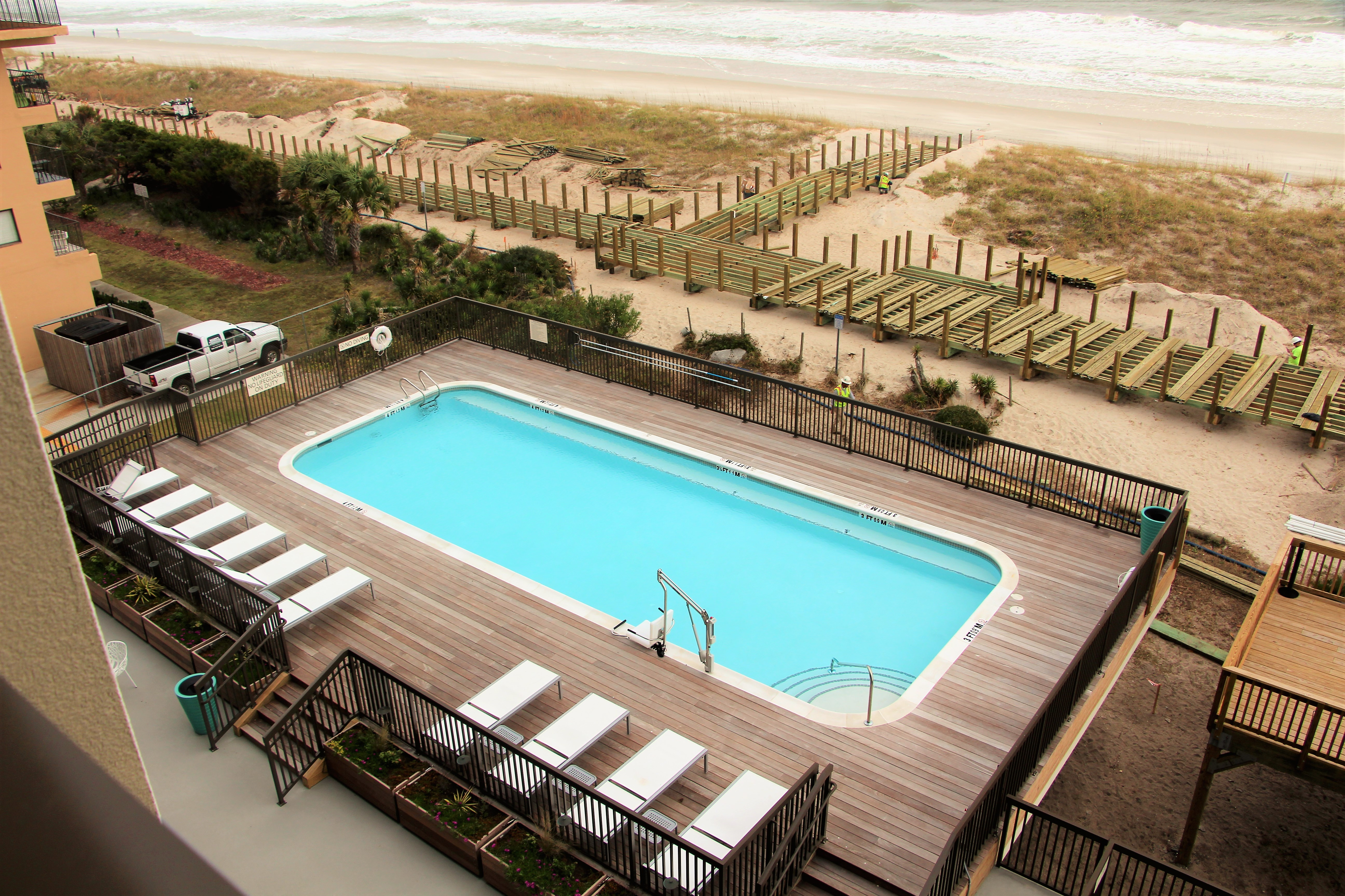 The Hotel Has Several Options For Oceanfront Rooms