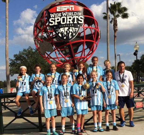 Wilmington Hammerheads Youth FC sent three teams to Disney World during Thanksgiving break.