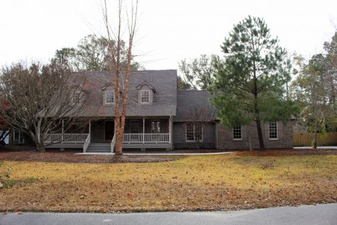 This John's Creek neighborhood home is located in the Myrtle Grove area of Wilmington.