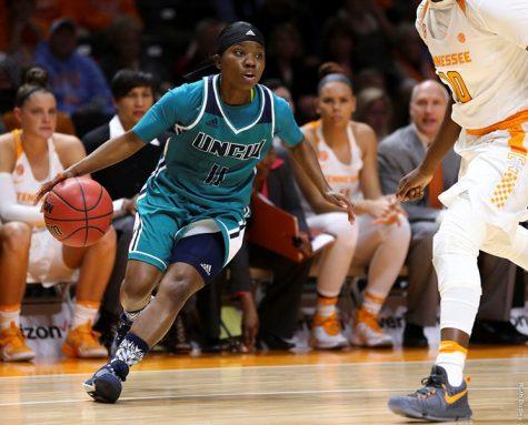 Jasmine Steele. Photo courtesy- UNCW sports