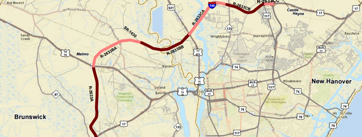 Traffic fixes could bring agony before ecstasy major road cape fear expansion sciox Gallery