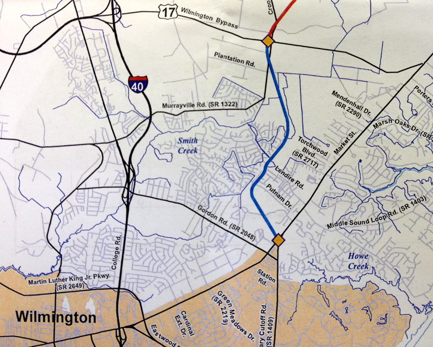 Traffic fixes could bring agony before ecstasy major road military cutoff project map sciox Gallery