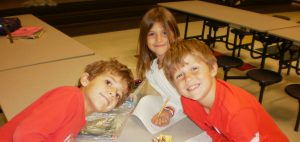 Students involved in Brunswick County's Communities In Schools (CIS) Before and After School Programs.