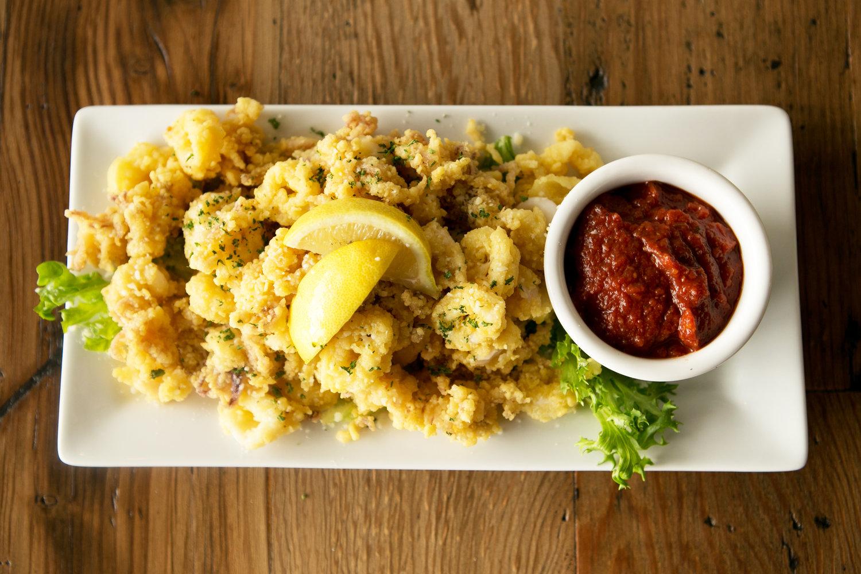 Calamari fritti at Cape Fear Seafood Company. Photo courtesy CapeFearSeafoodCompany.com