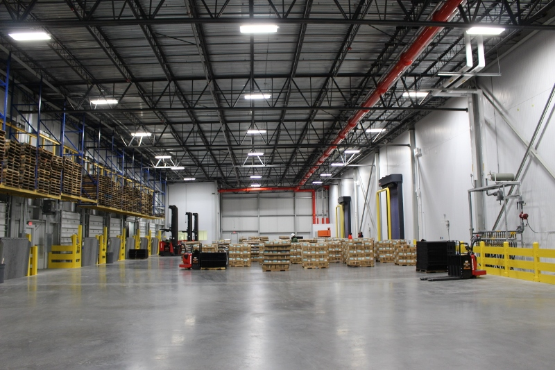The refrigerated loading dock. & Business heats up at Port of Wilmington Cold Storage | Port City Daily