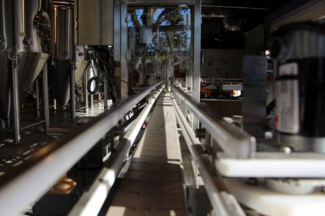 The conveyor system for the canning system.