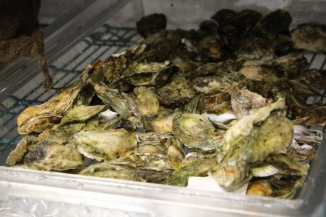 """""""These are Masonboro oysters,"""" said Watkins. """"They came out of the water at 4 p.m. yesterday. That's how fresh your oysters should be."""""""
