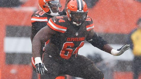 Jonathan Cooper was picked up off waivers by the Dallas Cowboys in January. Photo courtesy- Cleveland Browns.
