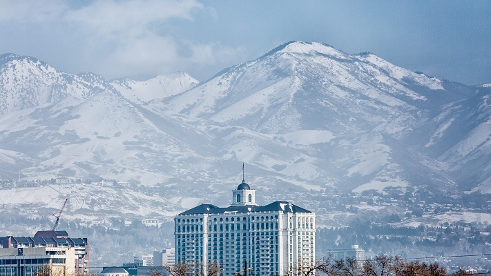 Salt Lake City with the mountains in the background. (Photos courtesy T.J. Drechsel)
