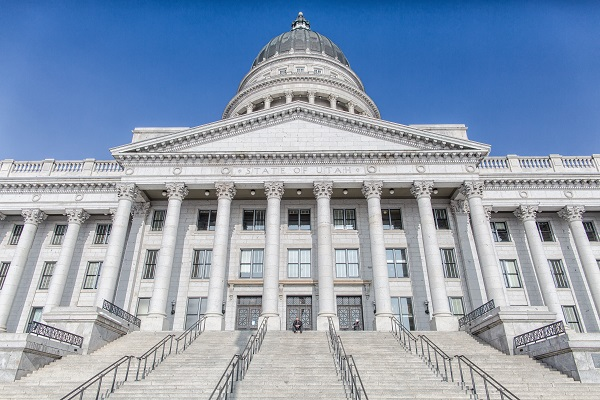 The Capitol building in Salt Lake City.