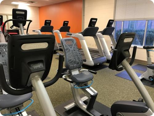 YMCA gym equipment