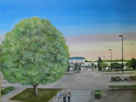 A rendition of what the new Christmas oak will look like from at the Legion Sports Complex on Carolina Beach Road. Photo courtesy- Gene Merritt.