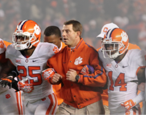 Dabo Swinney will be the featured speaker at this years Southeast NC FCA fundraiser. Photo courtesy- Fellowship of Christian Athletes.