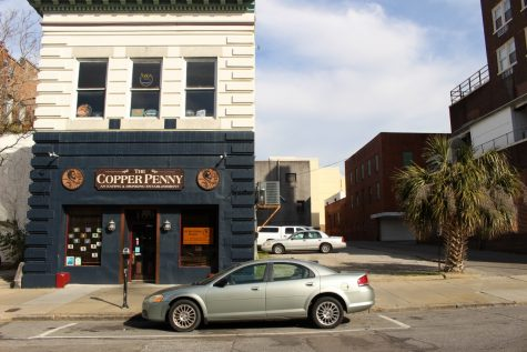 The Friendly Cafeteria and Restaurant lived at 111 Chestnut Street, next to the current Copper Penny. (Photo Benjamin Schachtman)