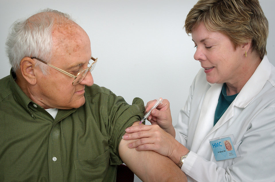 Cases of the flu are decreasing, but the season still has a few months to go.