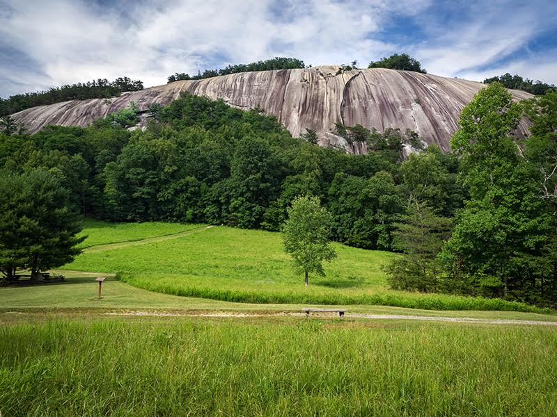 Stone Mountain State Park in Alleghany and Wilkes Counties. Photo courtesy NC State Parks