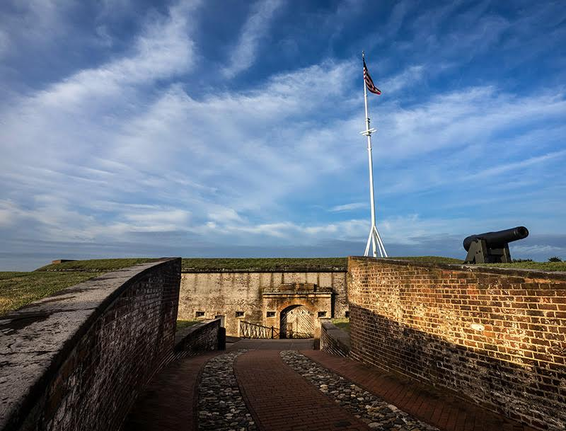 Fort Macon State Park in Carteret County. Photo courtesy NC State Parks