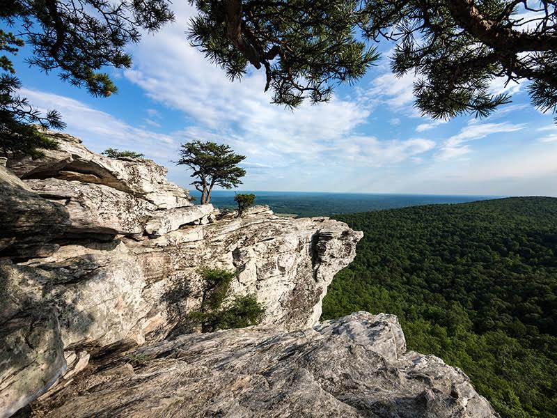 Hanging Rock State Park in Stokes County. Photo courtesy NC State Parks