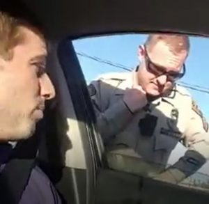 Can you shoot video of your interactions with police in North Carolina? Both a Wilmington Police officer and New Hanover County Sheriff's Department deputy told Uber driver Jesse Bright it was illegal recently. Their respective departments later said it was not. (Courtesy of Jesse Bright)