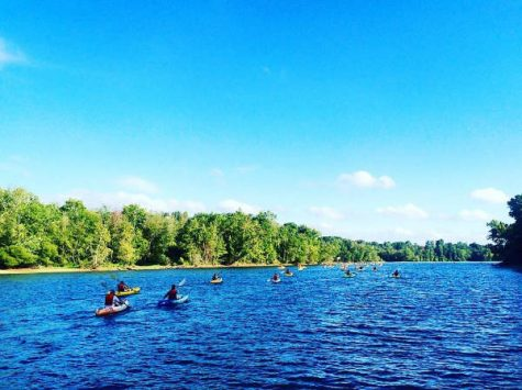 Take a peaceful kayaking (or stand-up paddleboard) trip alongside each other down the Catawba River. (Port City Daily photo/COURTESY U.S. NATIONAL WHITEWATER CENTER)