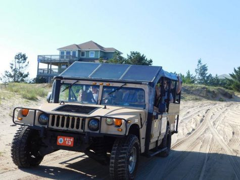 Take a two-hour, open-Hummer tour of Corolla, an island in the Outer Banks that is home to wild Banker horses believed to have been left behind by Spanish explorers in the 1500s. (PORT CITY DAILY PHOTO/COURTESY WILD HORSE ADVENTURE TOURS)