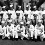 The 1945 V Division aboard th Battleship North Carolina (Port City Daily photo/COURTESY OF THE USS NORTH CAROLINA)