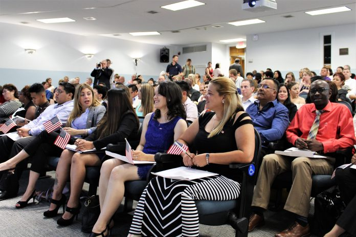 An American Snapshot 37 New Citizens Welcomed To The United States Port City Daily